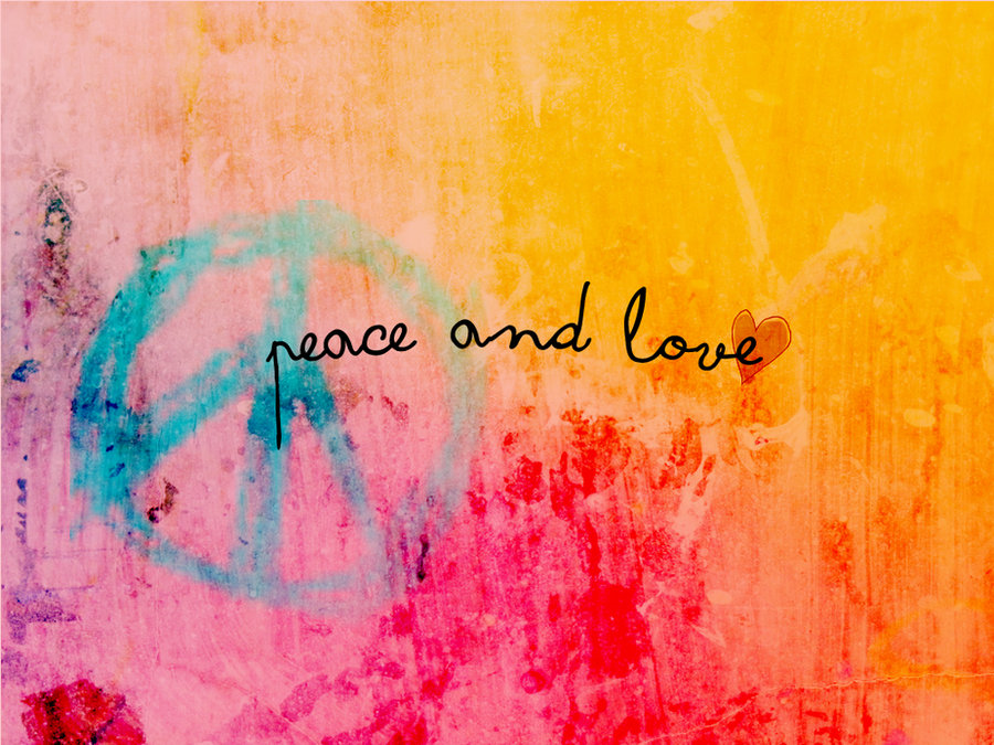 best love and peace wallpaper - photo #1