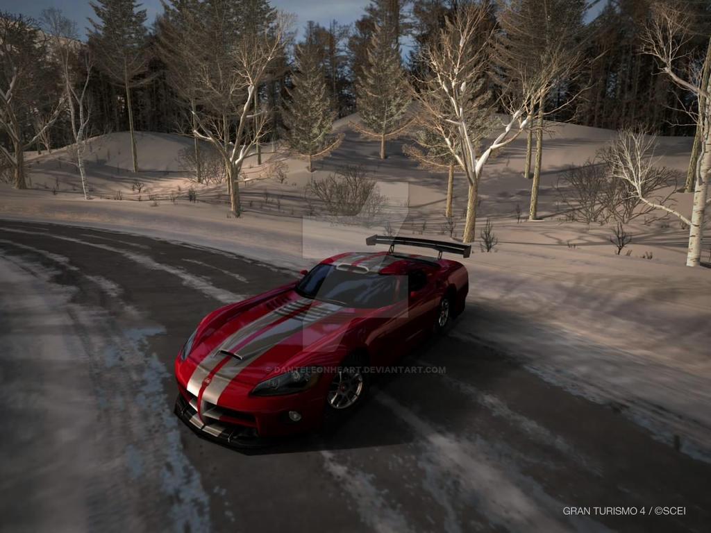 Gran Turismo 4 Viper GTS-R by DanteLeonheart