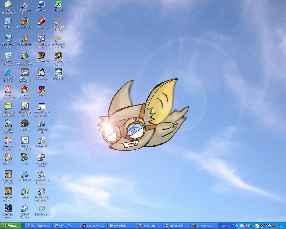 Flying Bat by Ikrus