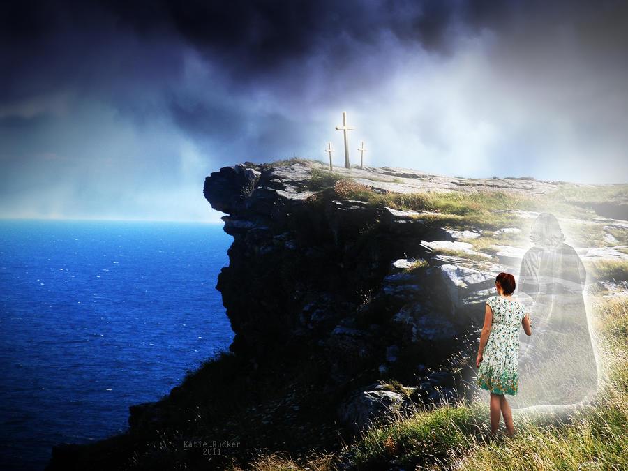 Walking With God by KatieRuckerArtwork