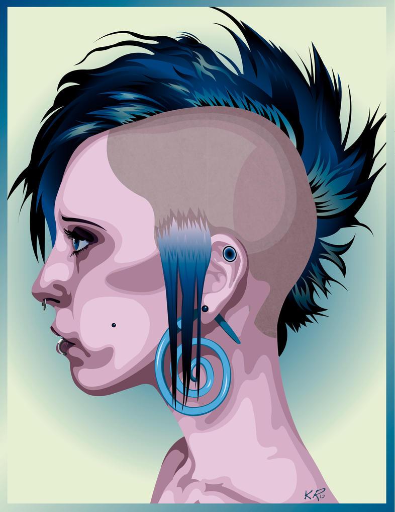 Punk by KatieRuckerArtwork