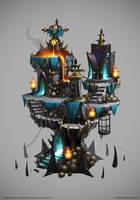 Siegecraft Commander Chaos Tower by mavhn