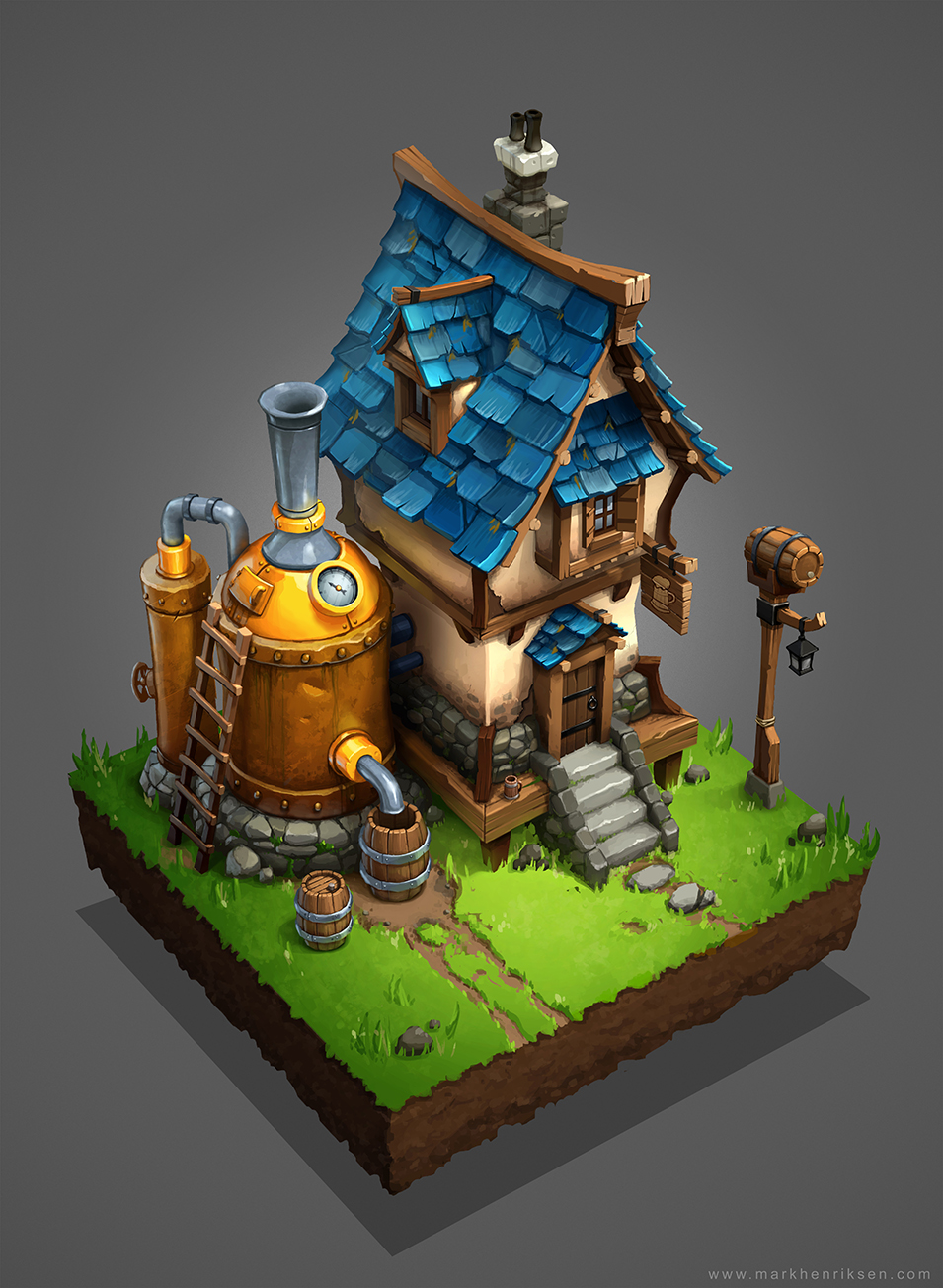 Medieval Brewery By Mavhn On DeviantArt
