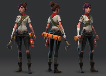 Girl Scout Patrol Leader by mavhn