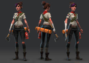 Girl Scout Patrol Leader