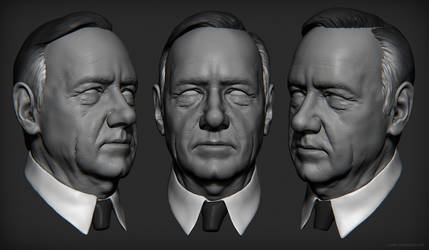 Frank Underwood Sculpt