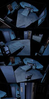 Hand painted comic style environment by mavhn