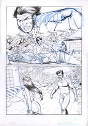 Wolverine 3 sample comic