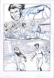 Wolverine 3 sample comic
