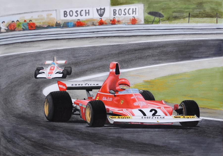 Niki Lauda 1974 by scrim23