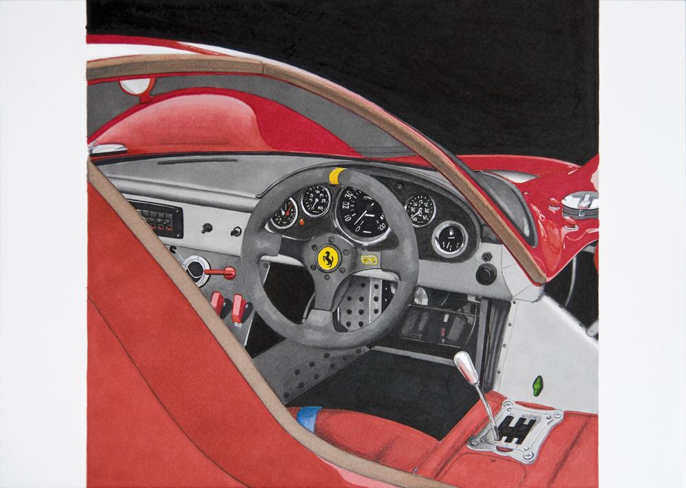 Ferrari 330 P4 by scrim23