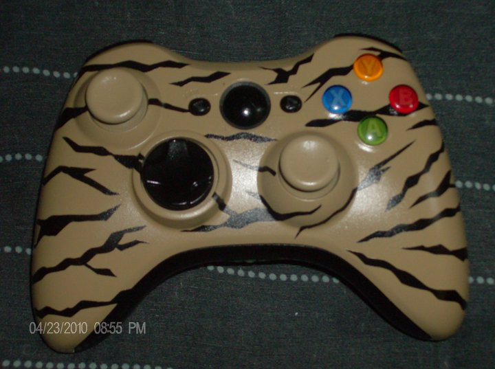 Custom painted xbox 360 controller by skcatch on DeviantArt