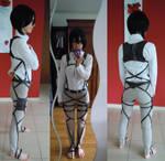 Shingeki no Kyojin cosplay WIP