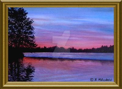 Debbies Pond by TTeddyau