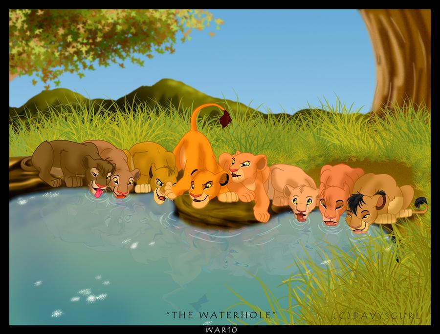 The Waterhole by caper-dj
