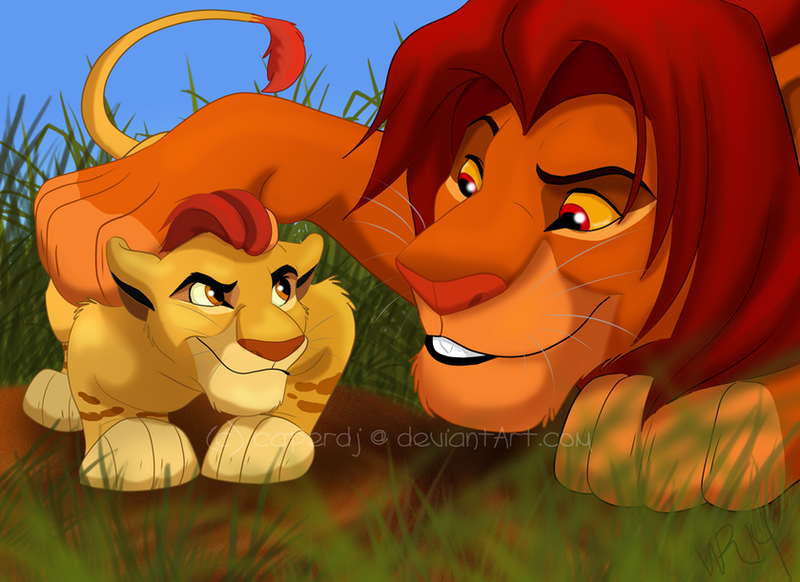 Stay low to the ground by caper dj on deviantart - Kion le roi lion ...