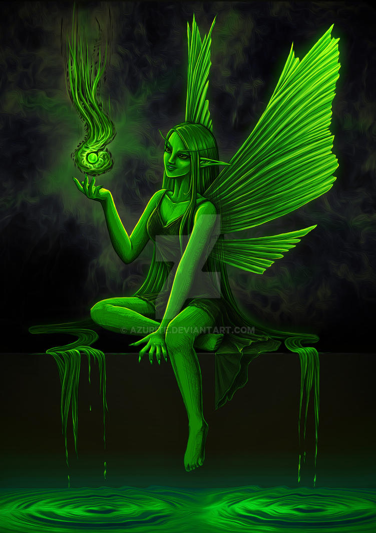 The Green Fairy by azurite