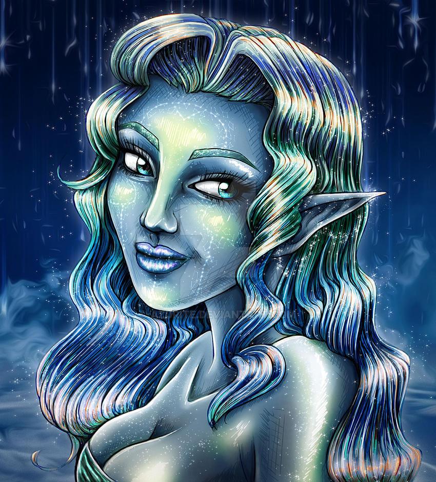 Star-elf by azurite