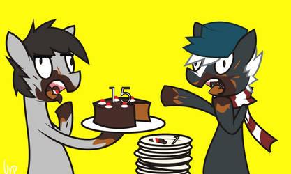 Skunkahz 15ht birthday omg by UrpleB3atin