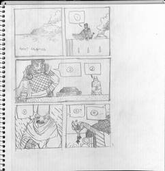 Comic Thumbnails 1 by griffiti