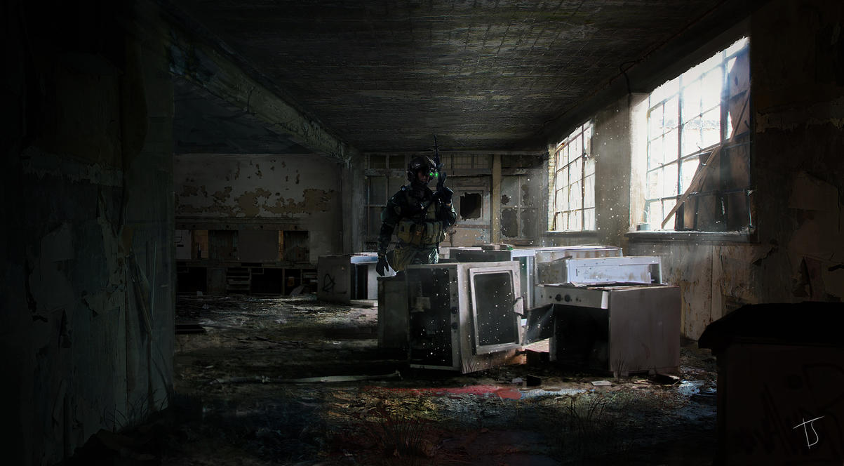 Abandoned Interior by SiberionSnow