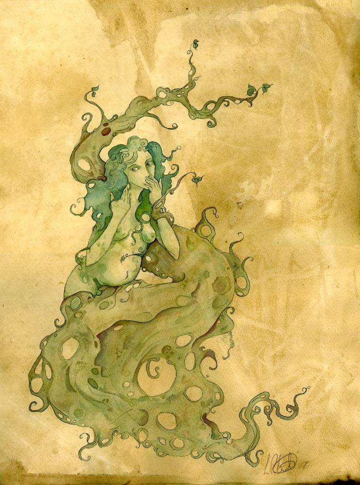 Tree Goddess by shadowgirl