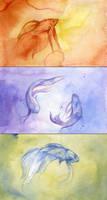3 fish by shadowgirl
