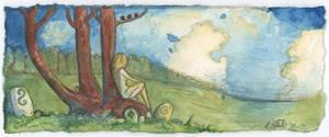 Tree Dweller by shadowgirl
