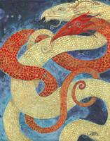 Dragon Love by shadowgirl