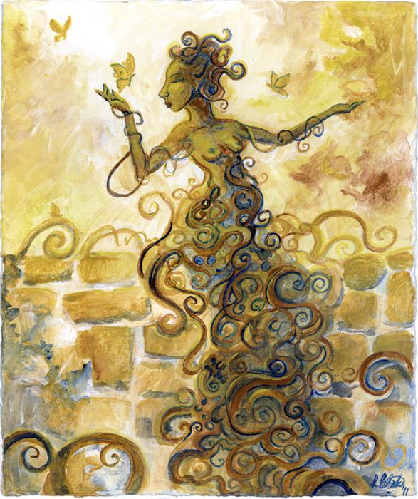 Garden Witch By Shadowgirl On Deviantart