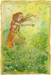 Dancing Through Dandelions
