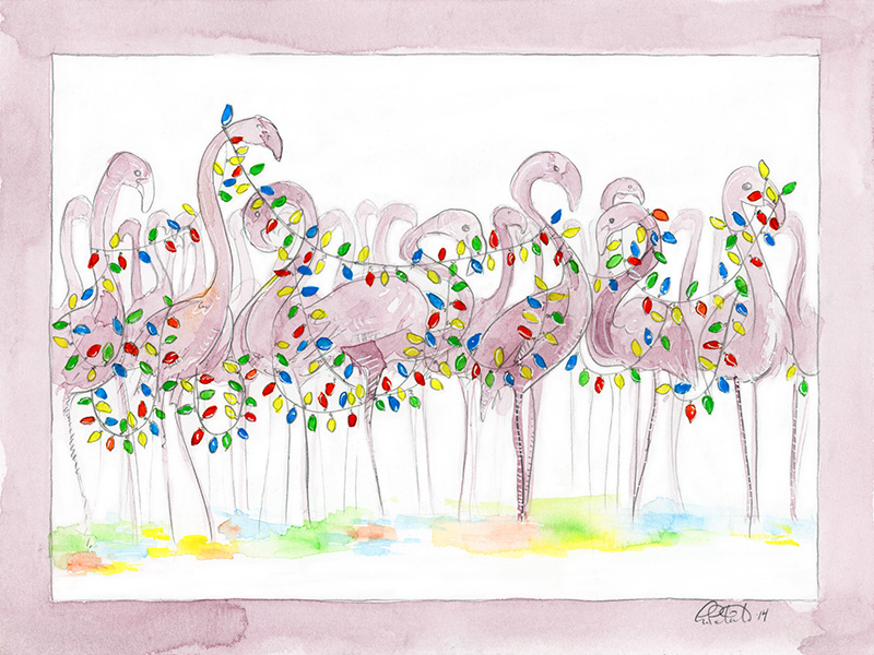 Flamingo Lights 2014 by shadowgirl