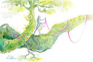 Ribbon Path by shadowgirl