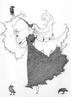 Crow Dance by shadowgirl