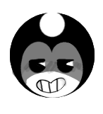 little icon of bendy by LionnaKH