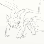 HTTYD- Toothless animation by looklooklookitabook