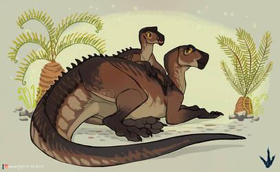 Personal art - Tenontosaurus