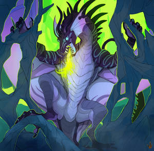 COMMISSION - Green flame