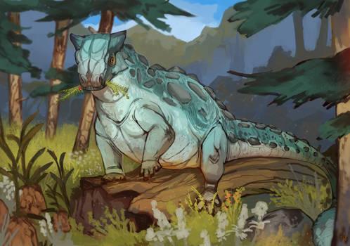 Personal Art - Ankylosaurus magniventris