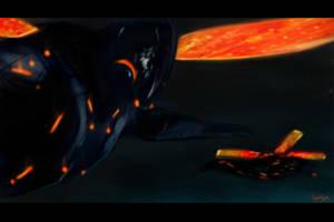 BLACK GUARD DROP by metroid05