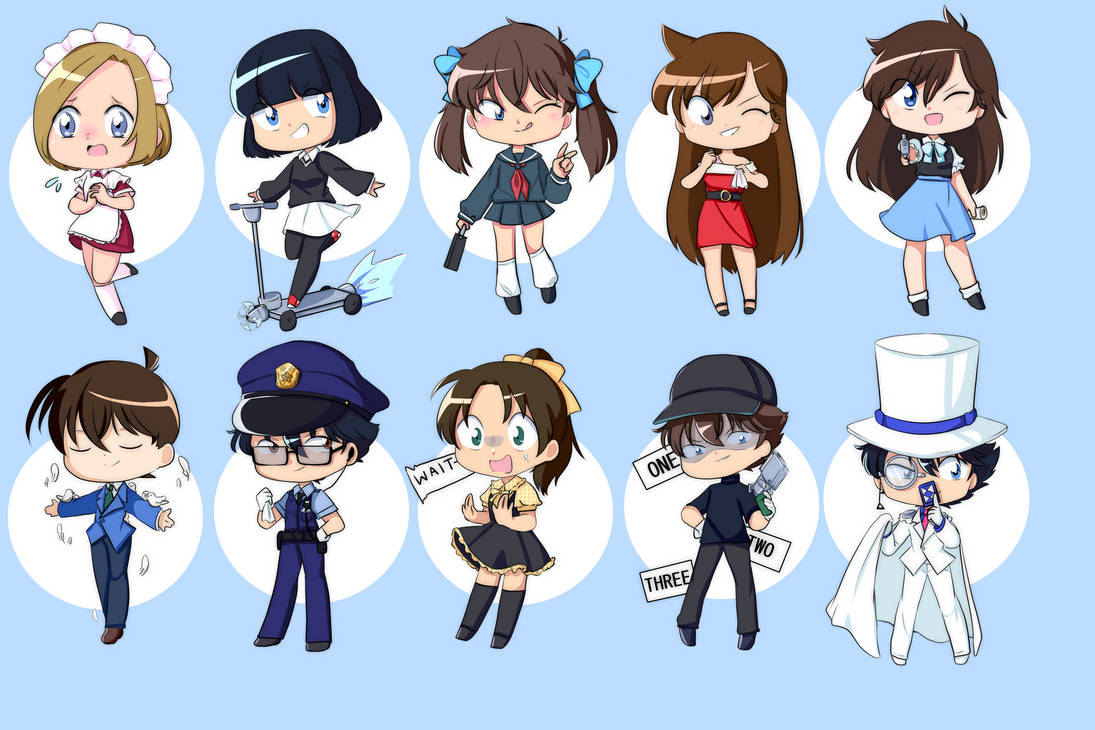 Kaitou Kid Disguises By Sheepcuties On Deviantart