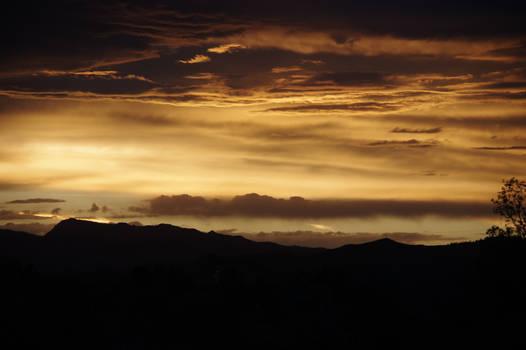 Highway 287 Sunset