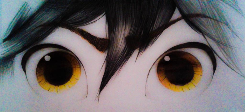 Colorful Eyes by DAsKeTcHeRZ
