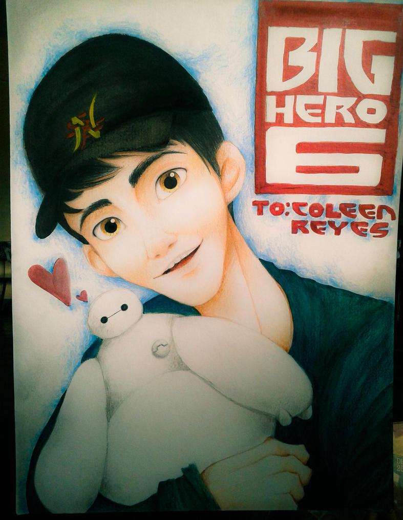 Tadashi Hamada Poster Selfie by DAsKeTcHeRZ