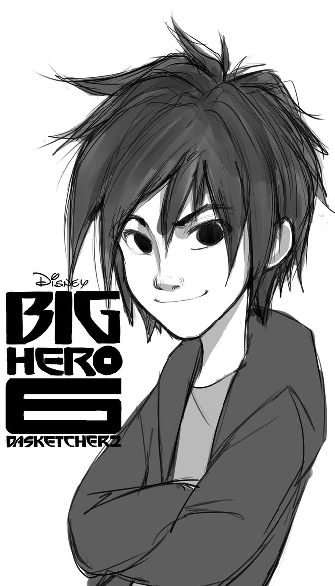 Hiro Hamada by DAsKeTcHeRZ