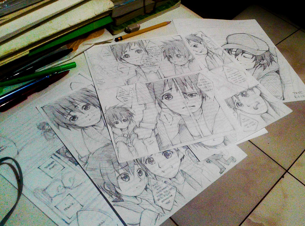Like a Mangaka by DAsKeTcHeRZ