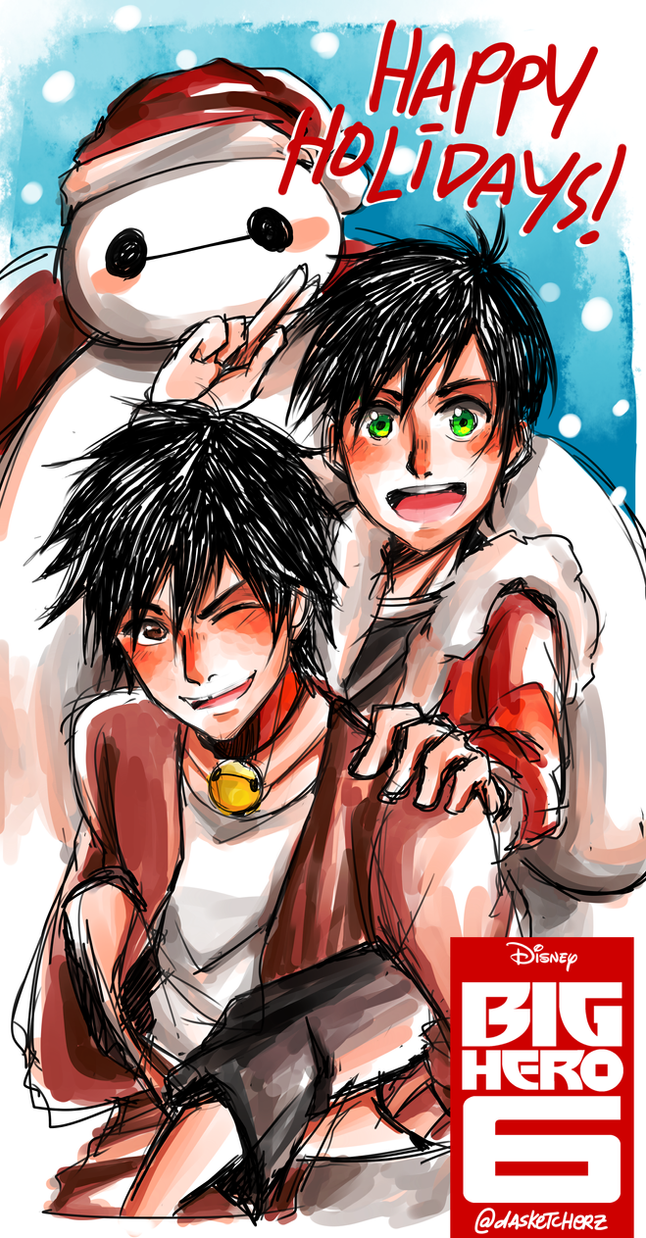 BH6: Happy Holidays! 2015 by DAsKeTcHeRZ