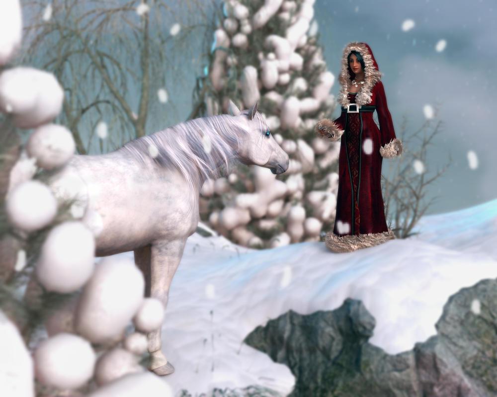 Snow Horse by Phlox73