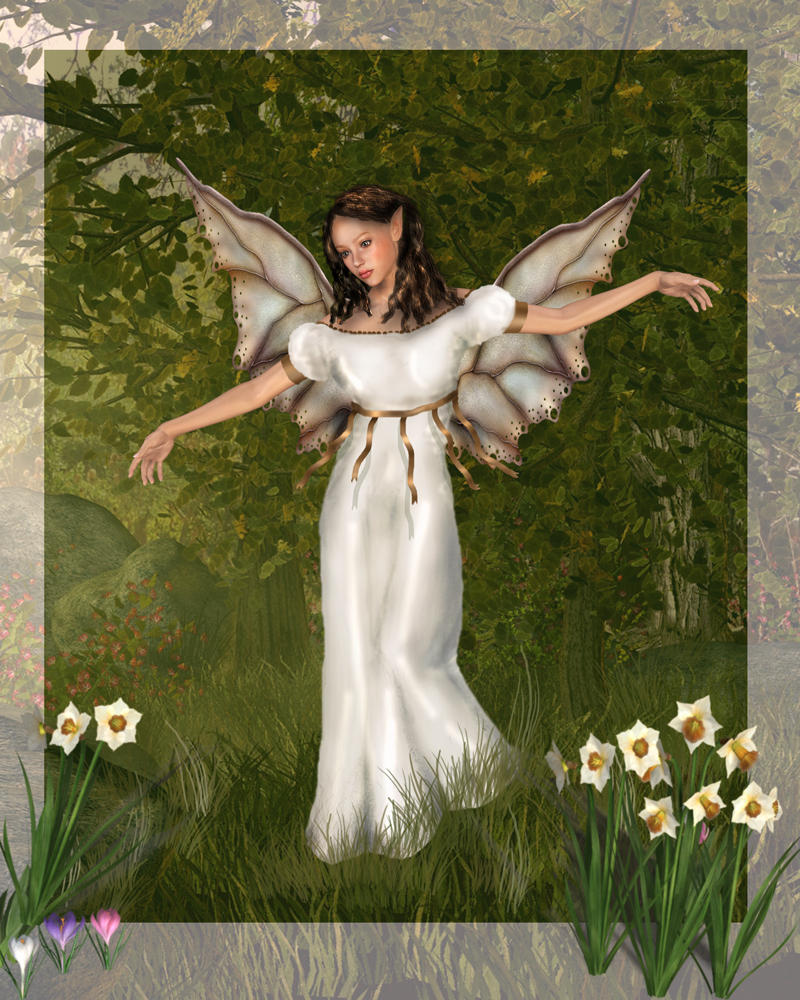 Spring fairy by Phlox73