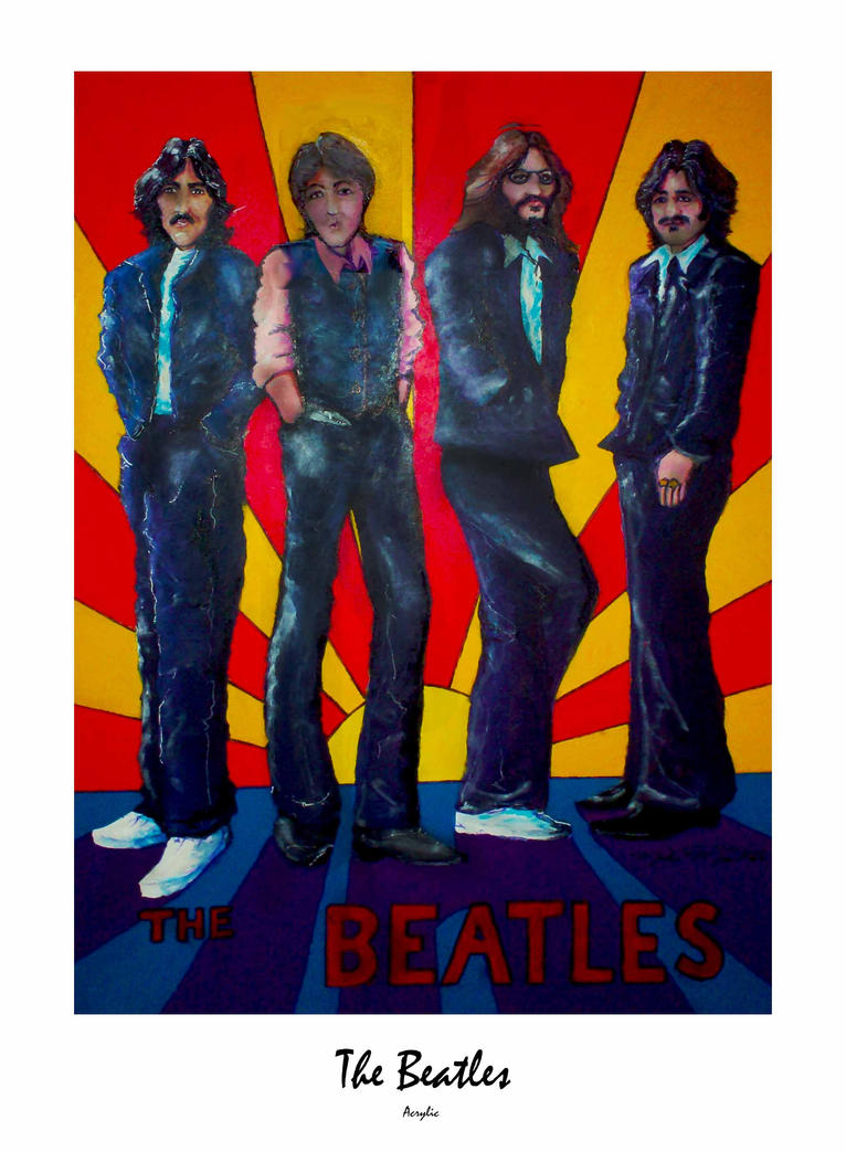 The Beatles by montalvo-mike
